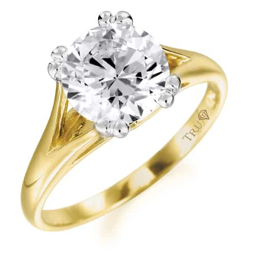 Solitaire-Rings